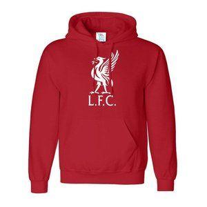 Men's Liverpool L.F.C Logo Soccer Hoodie